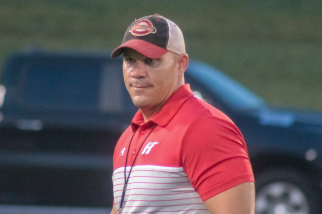 Hewitt-Trussville strength and conditioning coach Brandon Herring
