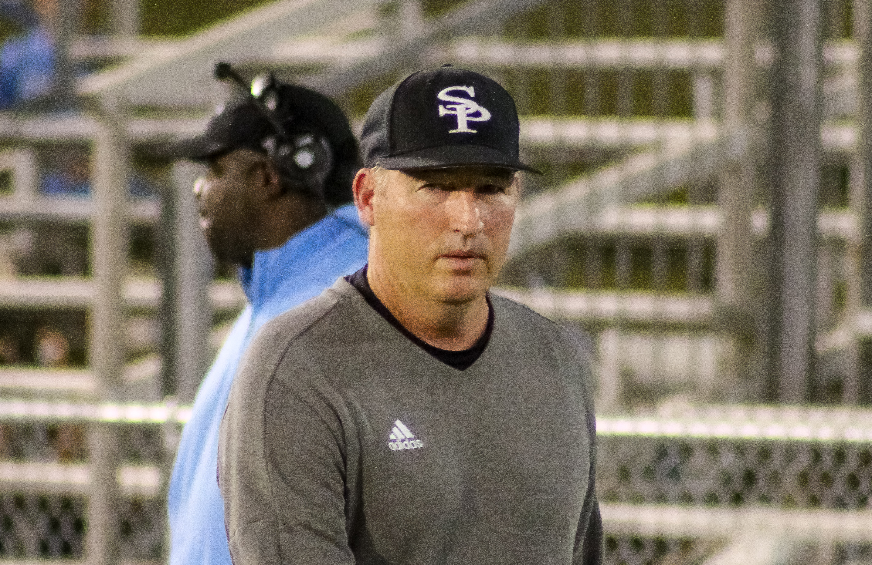 Spain Park head coach Shawn Raney