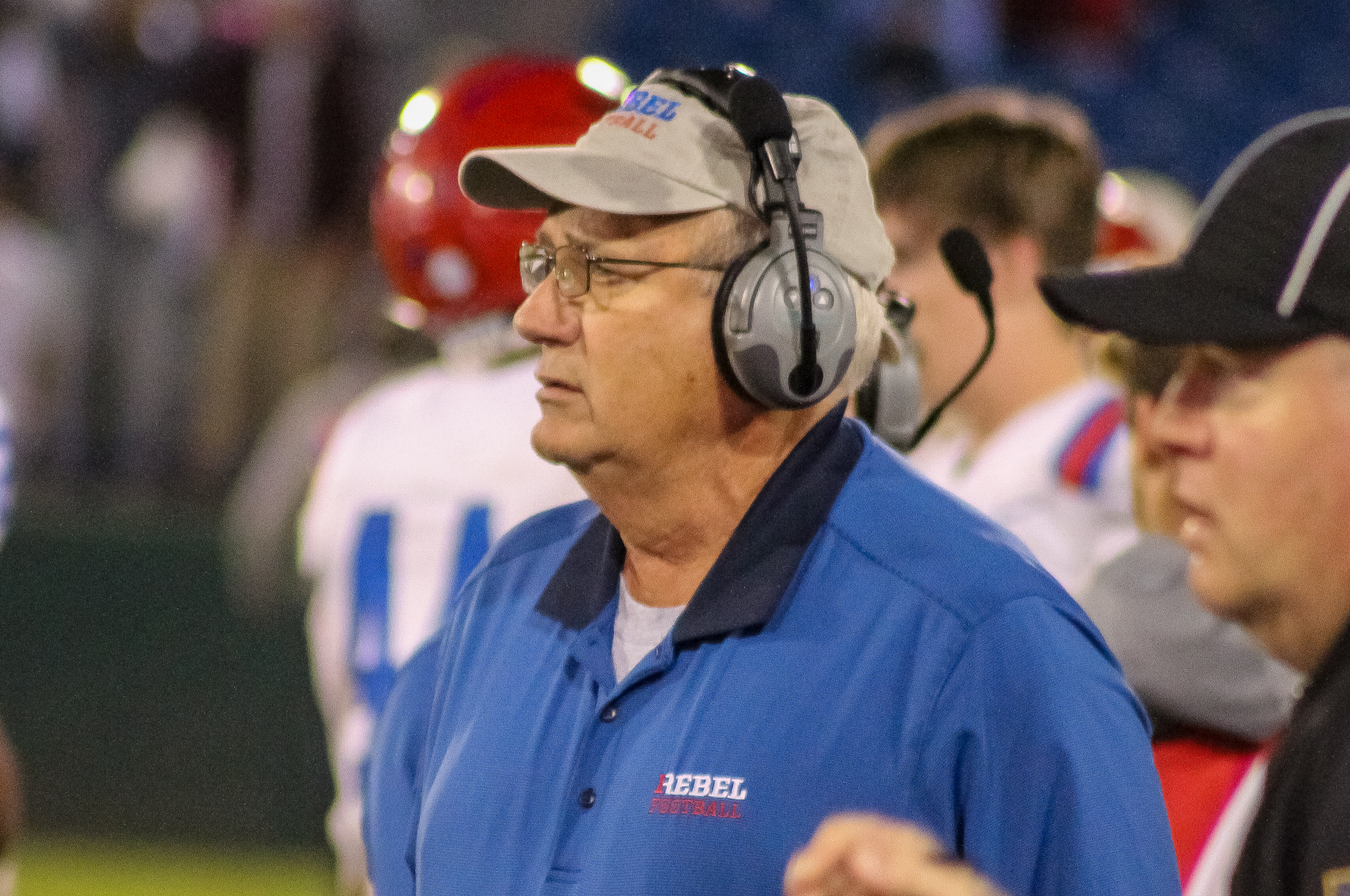 Vestavia head coach Buddy Anderson