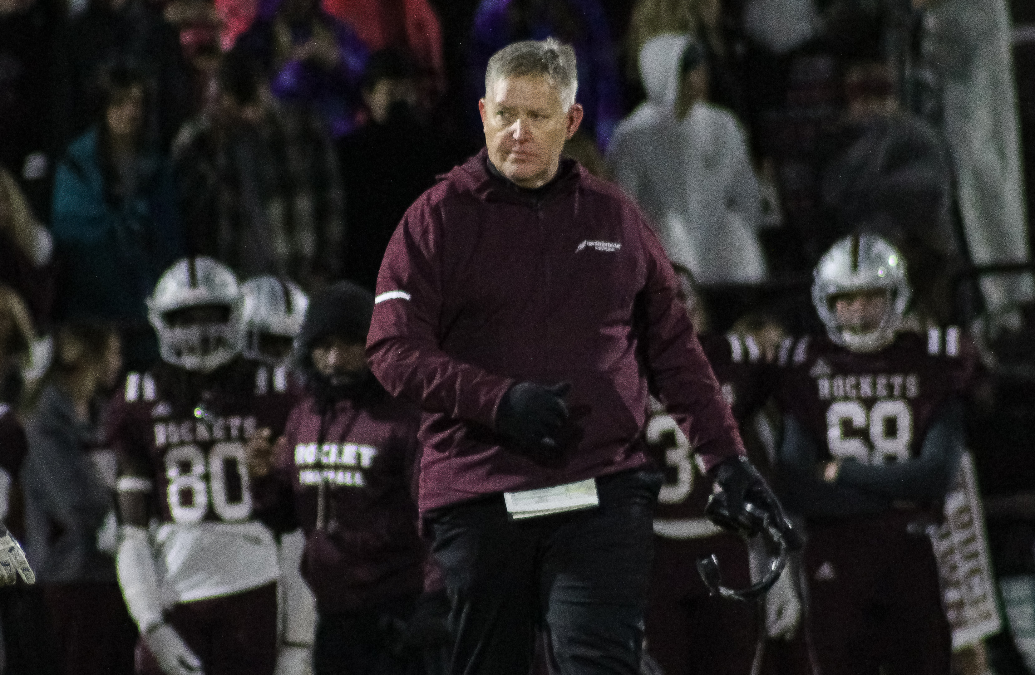 Gardendale head coach Chad Eads