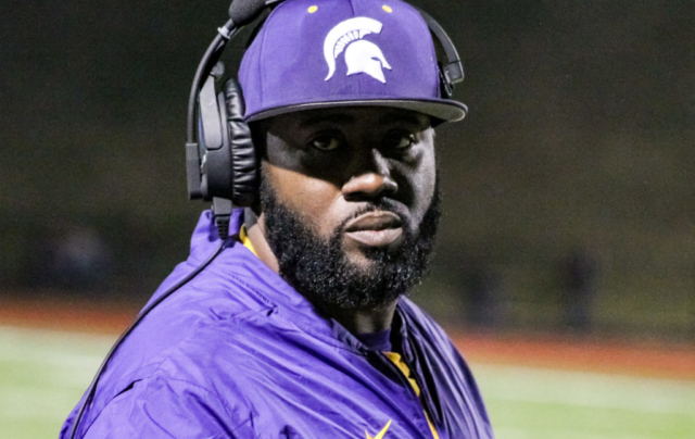 Pleasant Grove head coach Darrell LeBeaux