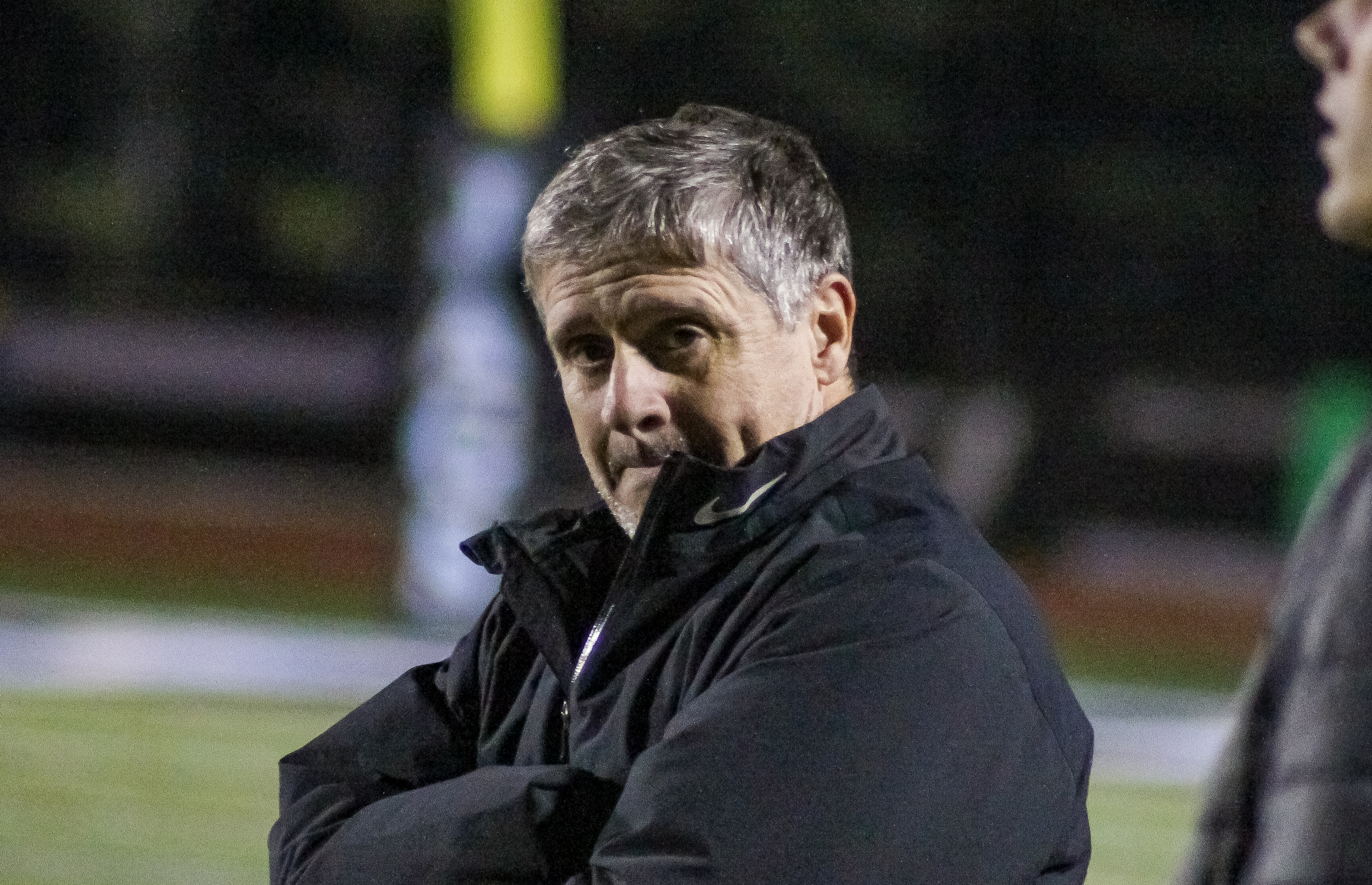 Shades Valley head coach David Partridge