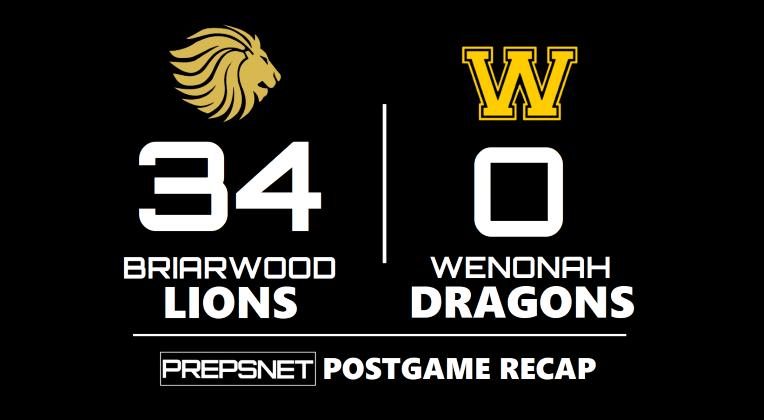 Postgame Recap   Briarwood blanks Wenonah 34-0
