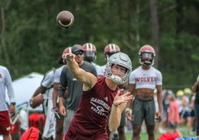 Gardendale quarterback Goose Crowder