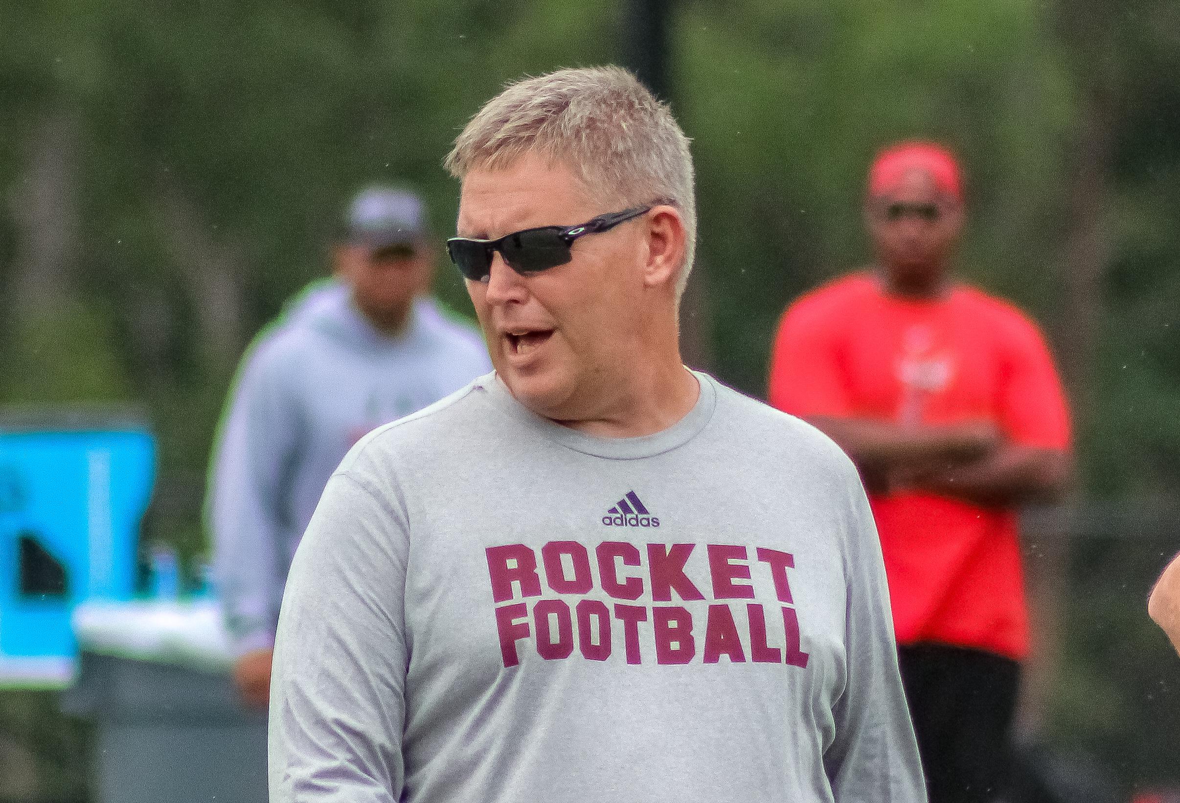Gardendale High School head football coach Chad Eads