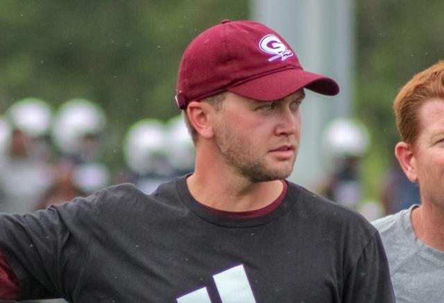 Gardendale assistant coach William Eads
