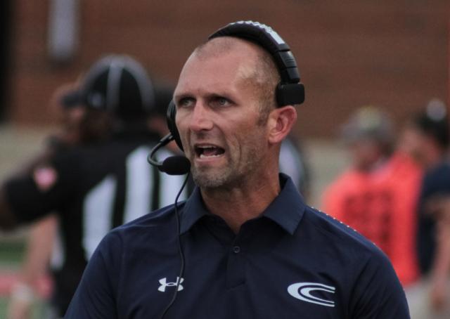 Clay-Chalkville head coach Drew Gilmer