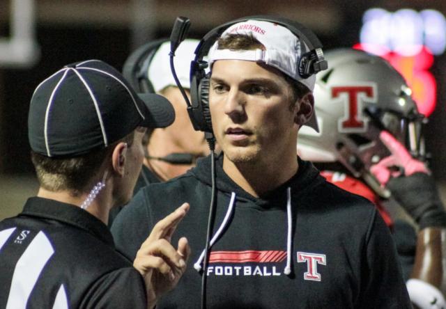 Thompson assistant coach Jake Ganus