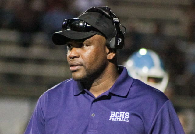 Bessemer City head coach Andrew Zow