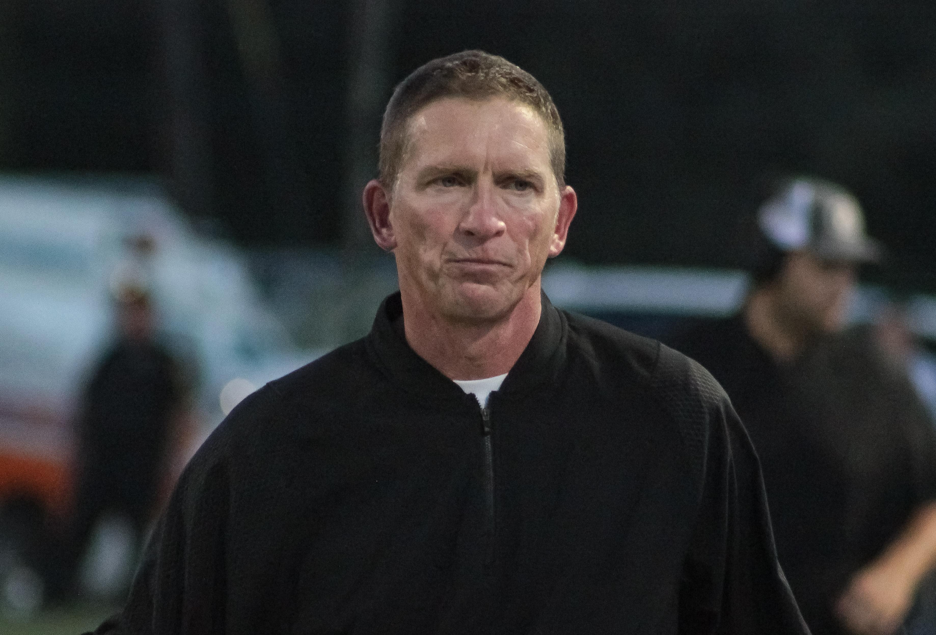 Cullman head coach Oscar Glasscock