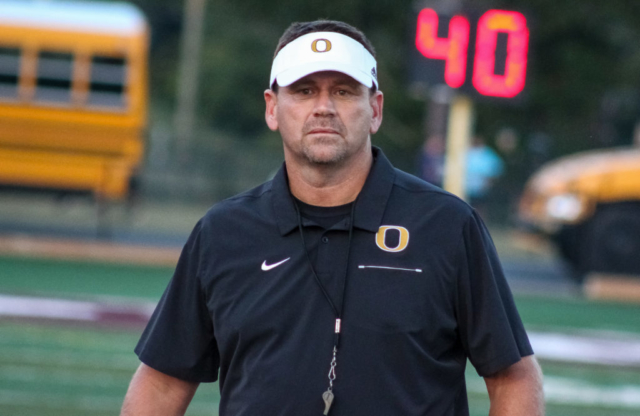 Oxford head coach Keith Etheredge