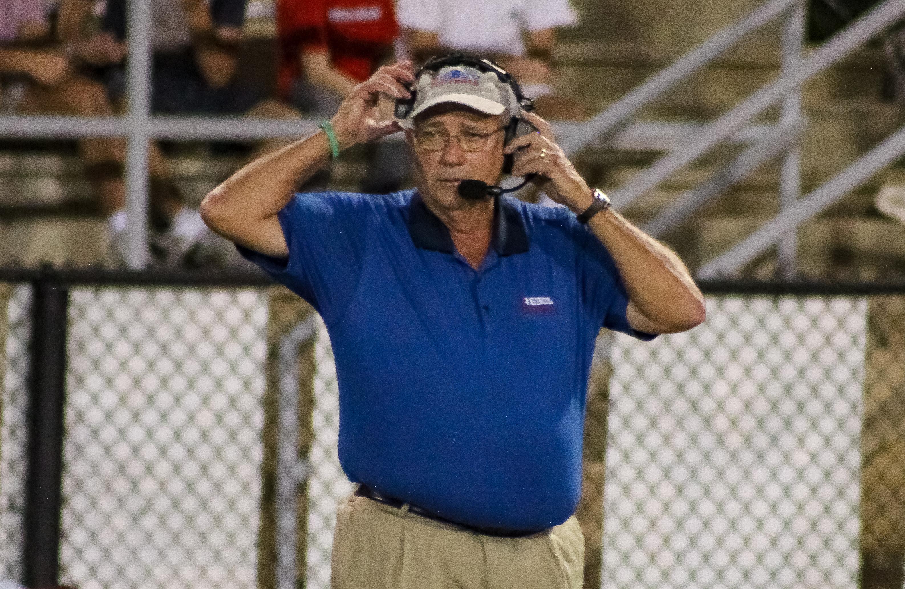 Vestavia Hills head coach Buddy Anderson