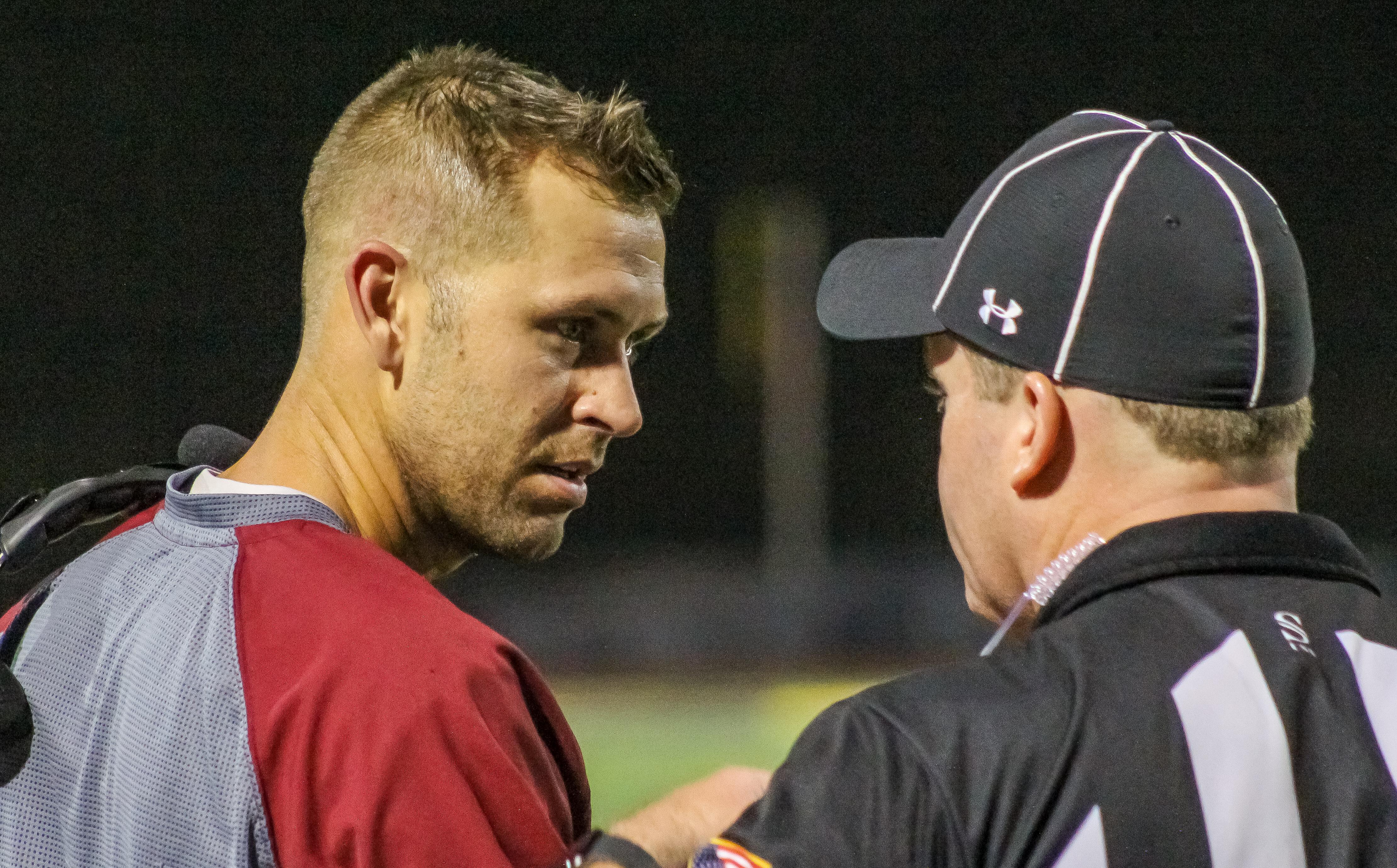 Hartselle head coach Bo Culver