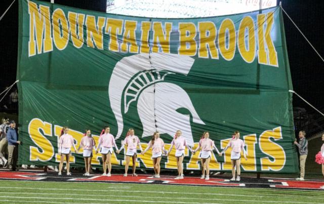 Thompson Warriors vs Mtn Brook Spartans