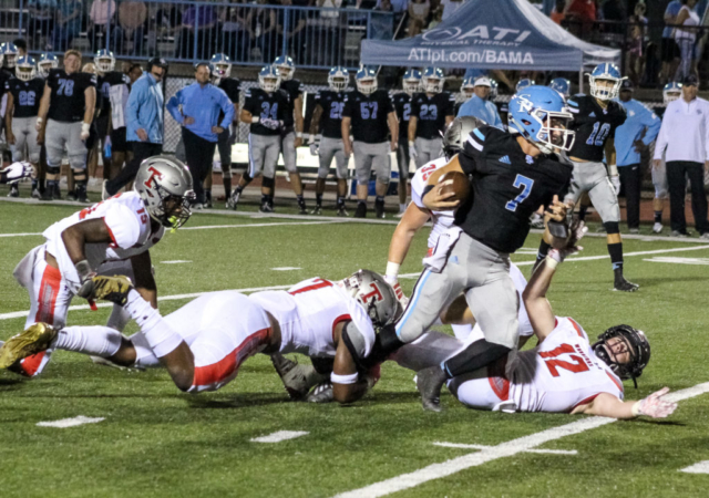 Spain Park QB Harrison Barker