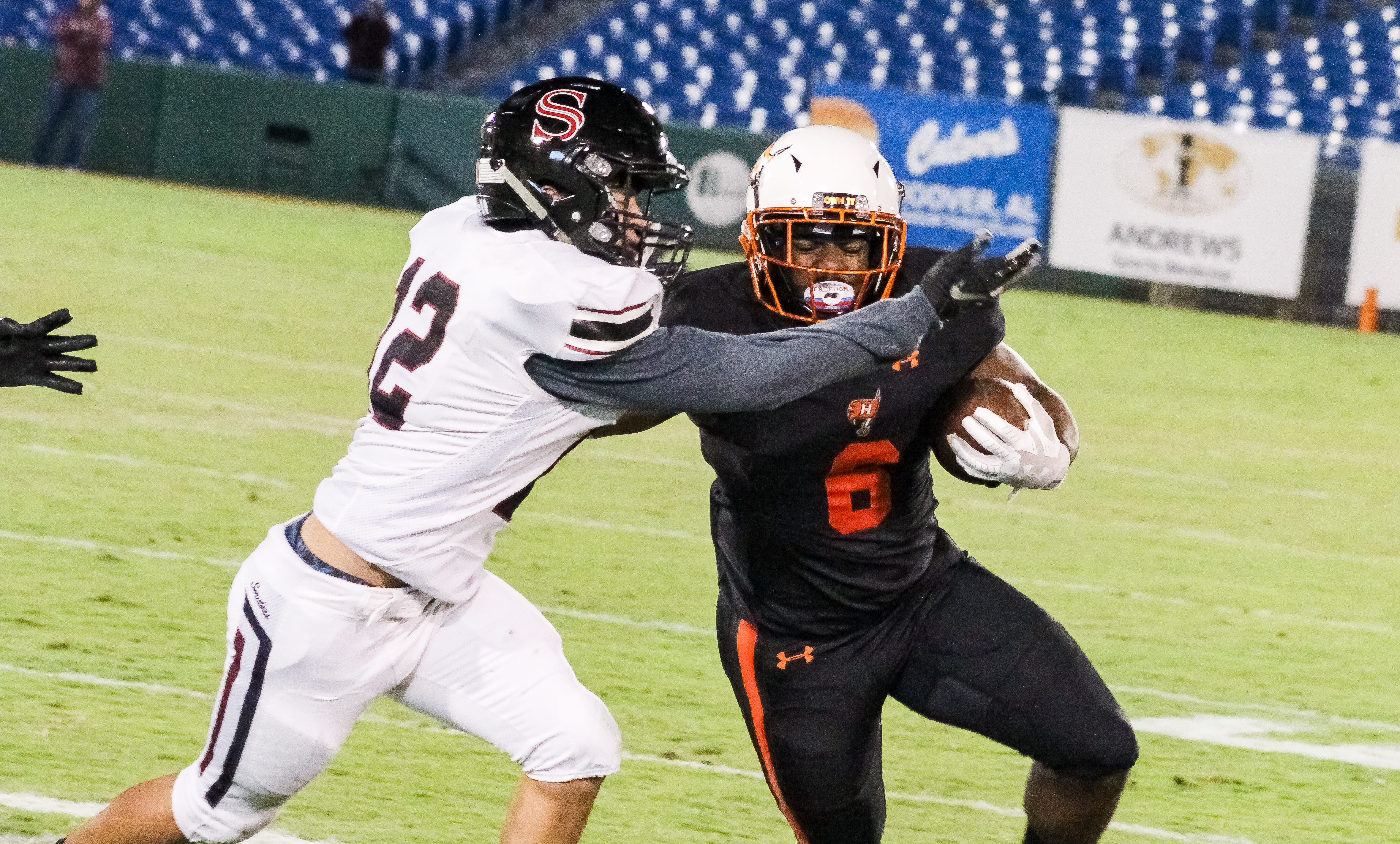 Hoover RB Anthony Hayes