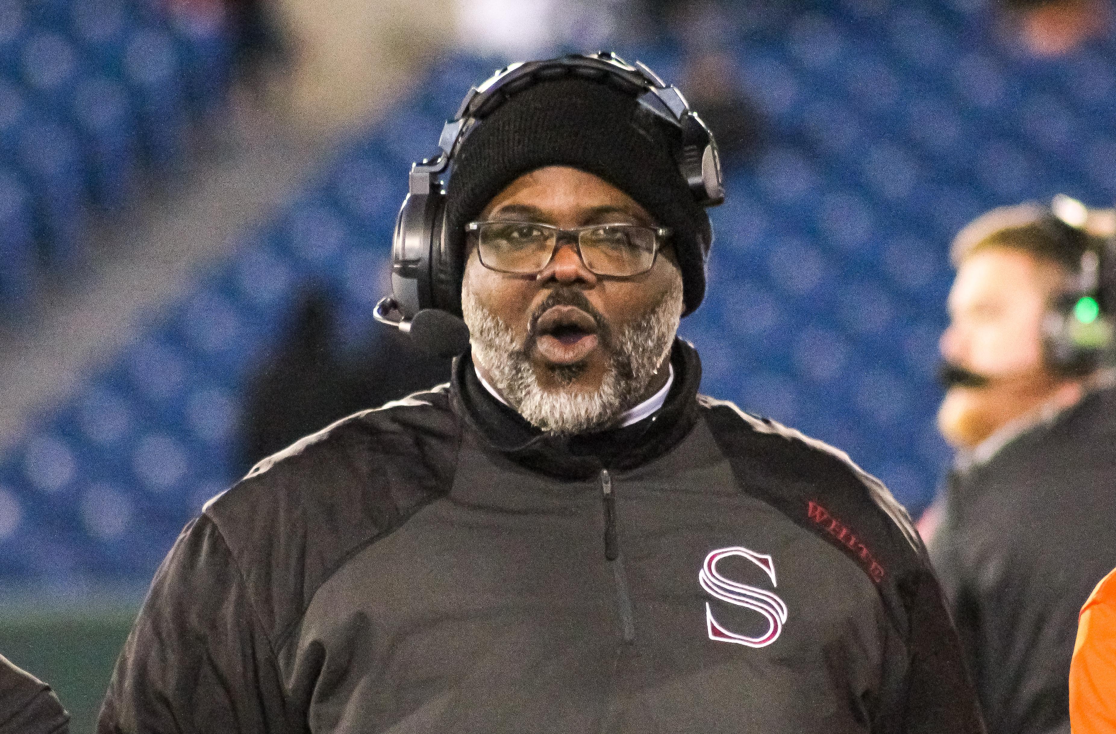 Sparkman head coach Laron White