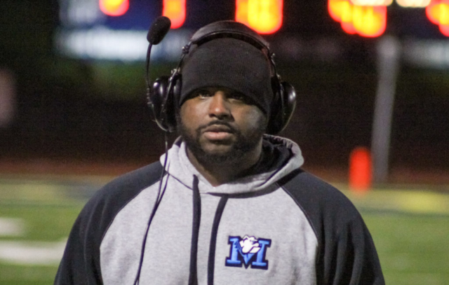 Marbury head coach Jason Wallace