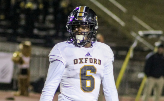 Oxford DB Delvon Fegans