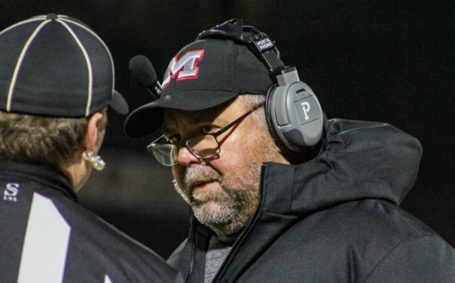 Muscle Shoals head coach Scott Basden