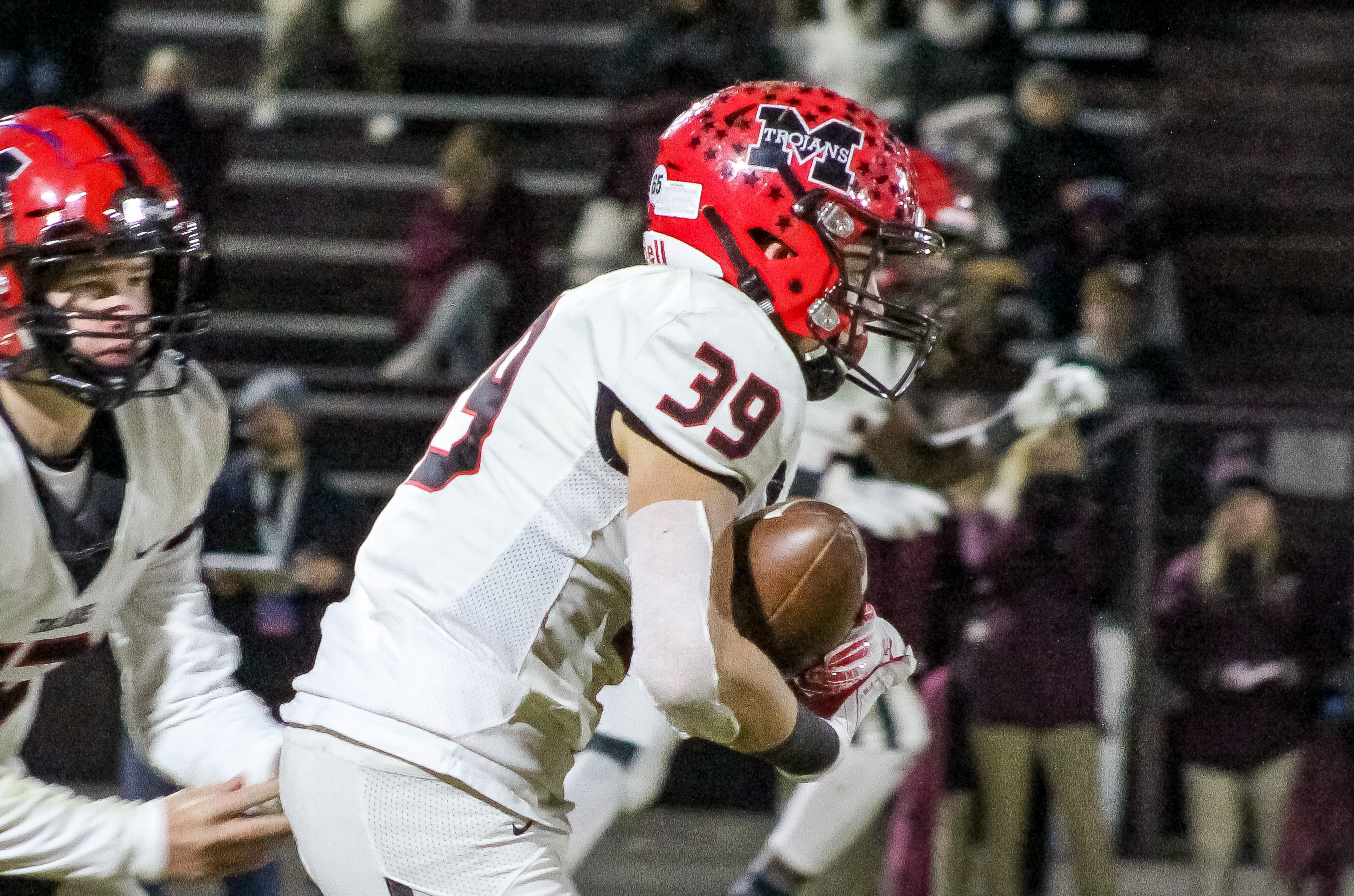 Muscle Shoals RB William Berry