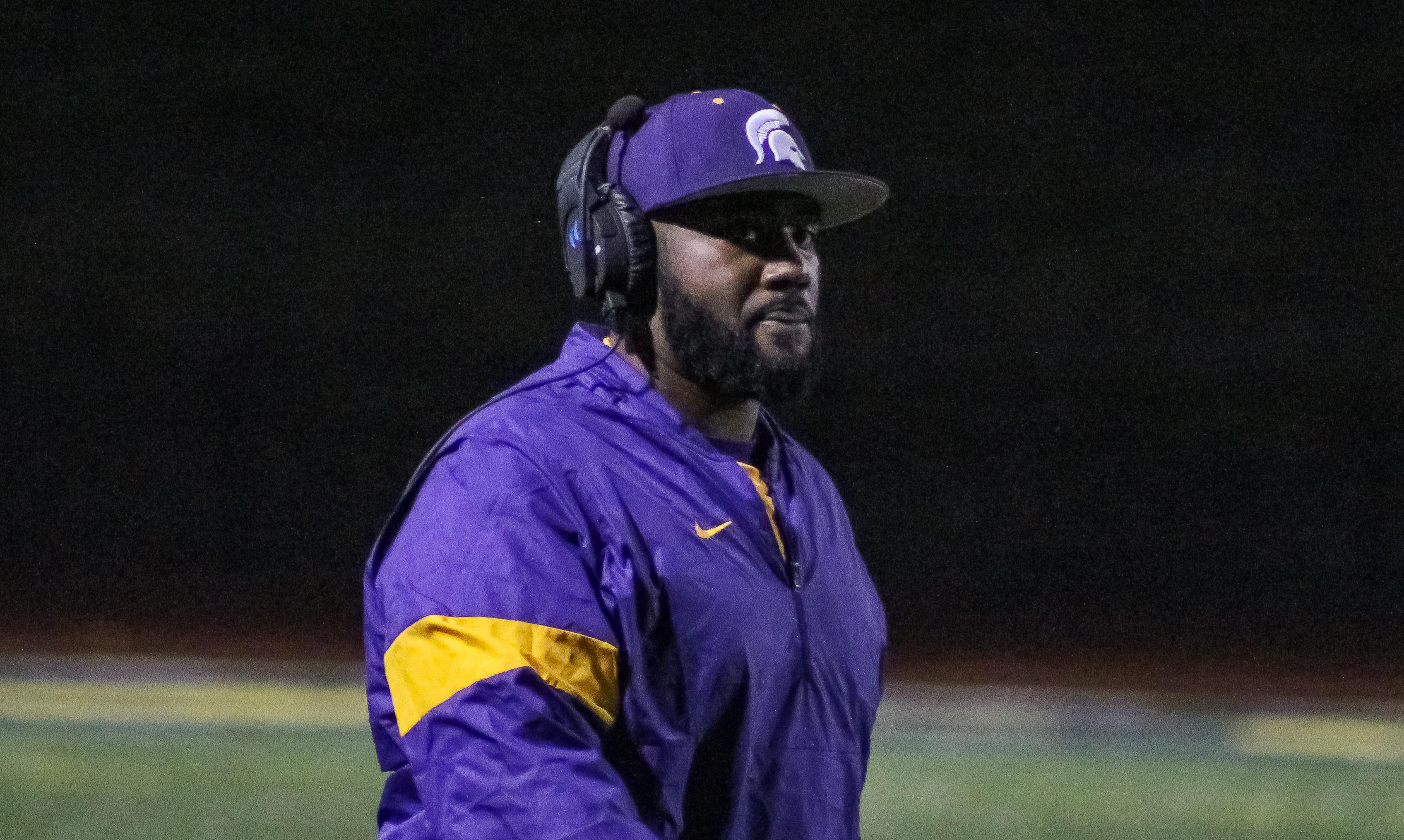 Pleasant Grove head coach Darrell LeBeaux