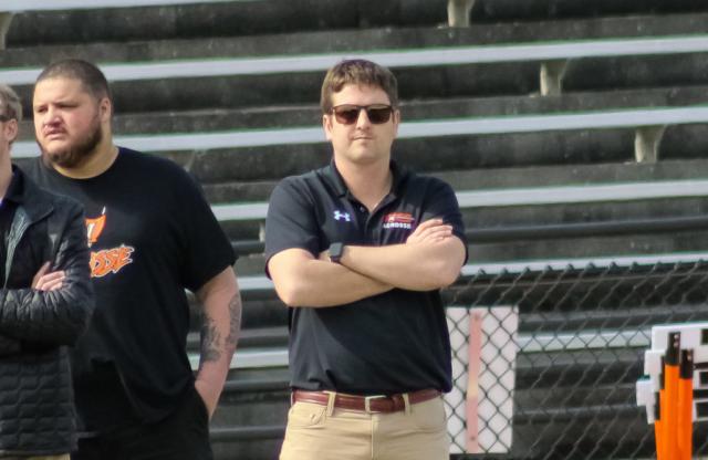 Hoover head coach Conor Conway
