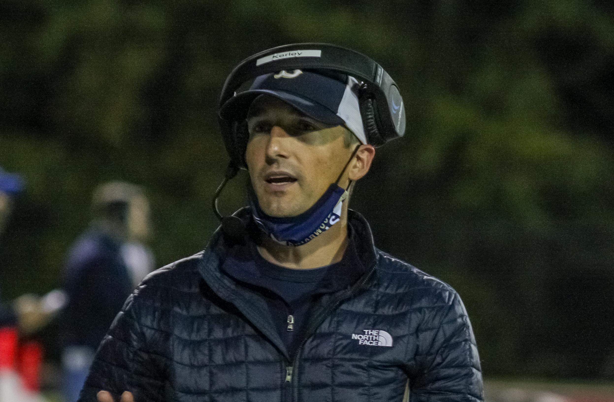 Briarwood offensive coordinator Bobby Kerley