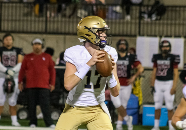 Briarwood quarterback Christopher Vazzina