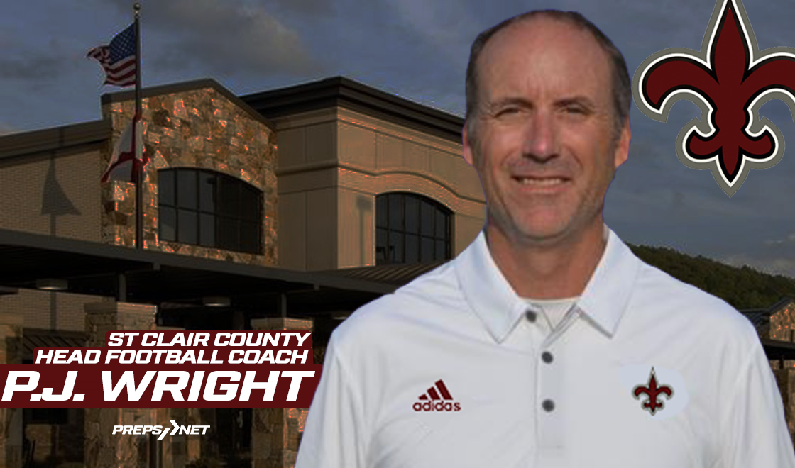 P.J. Wright named St. Clair County head football coach