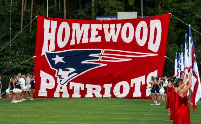 Homewood Patriots vs Vestavia Hills Rebels
