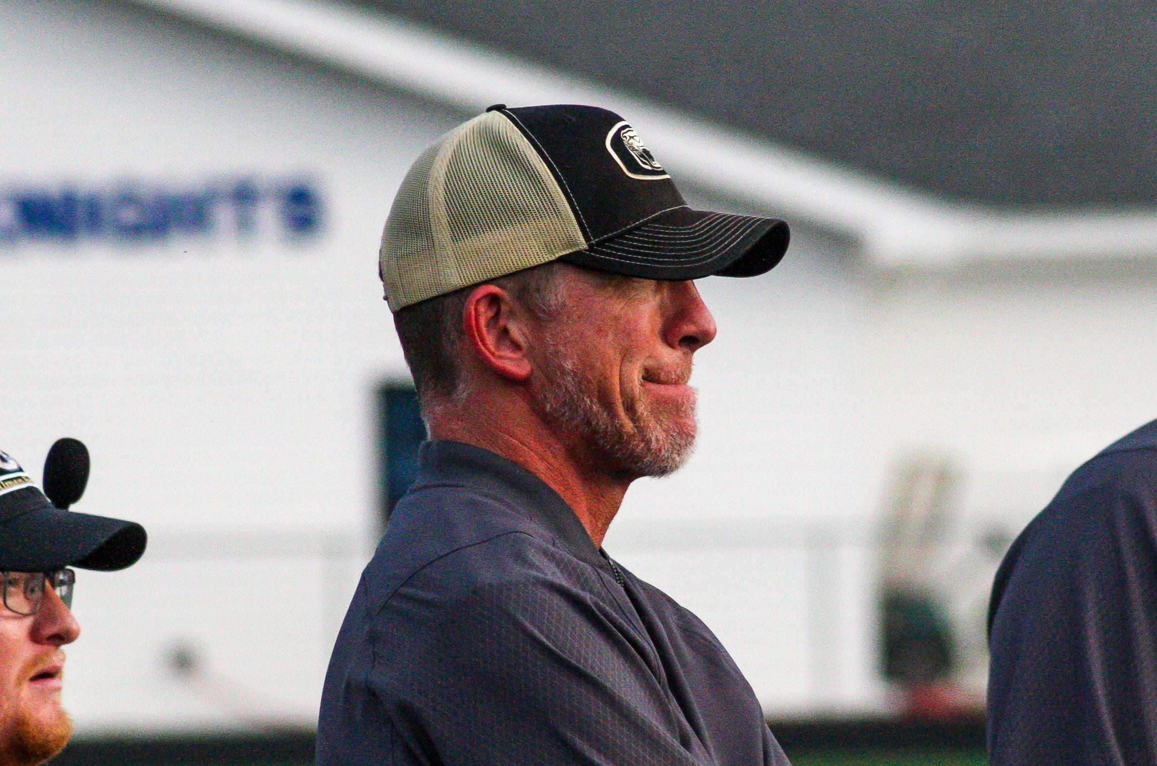 Cullman Head Football Coach Oscar Glasscock